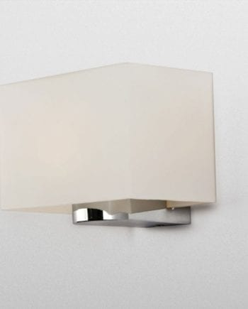 Glas Rectangle Vegglampe-0