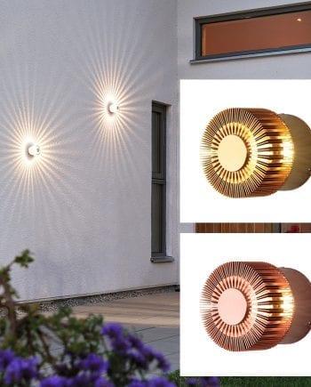 Monza LED Veggspot Spiral-0