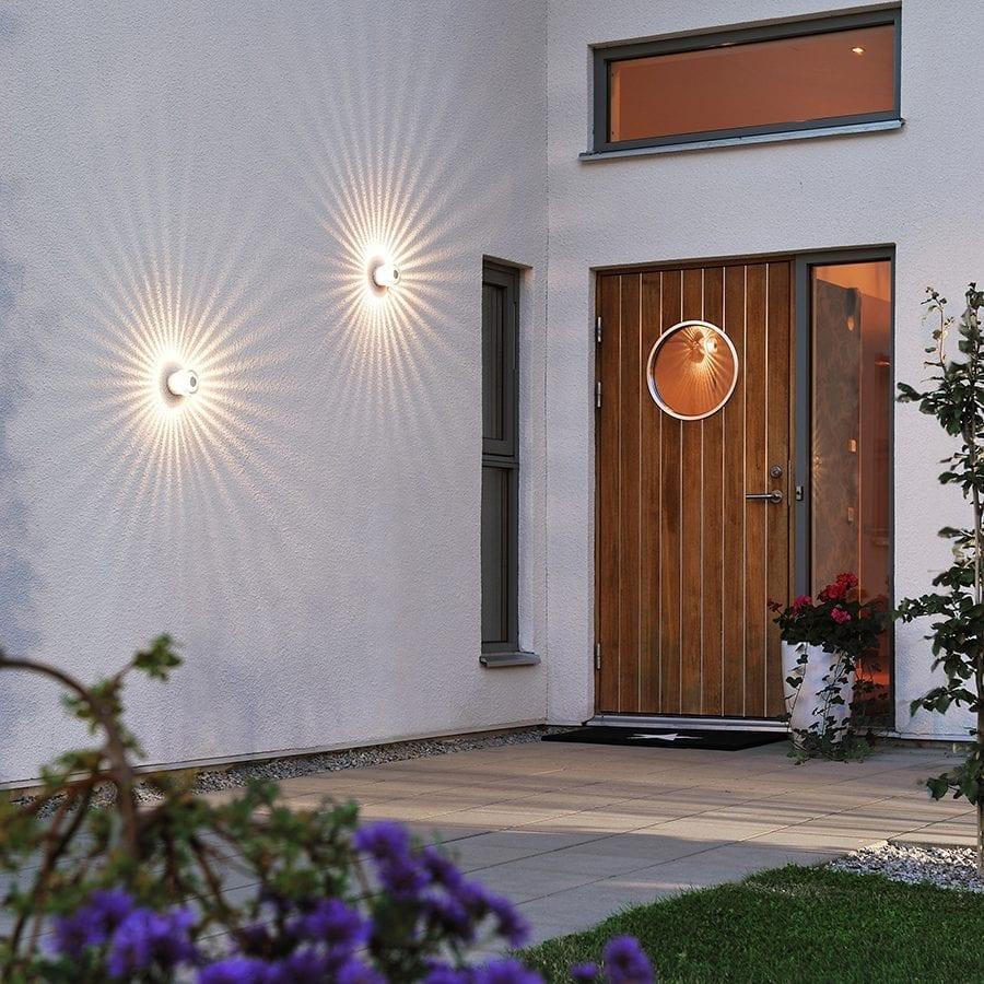 Monza LED Veggspot Spiral-40435