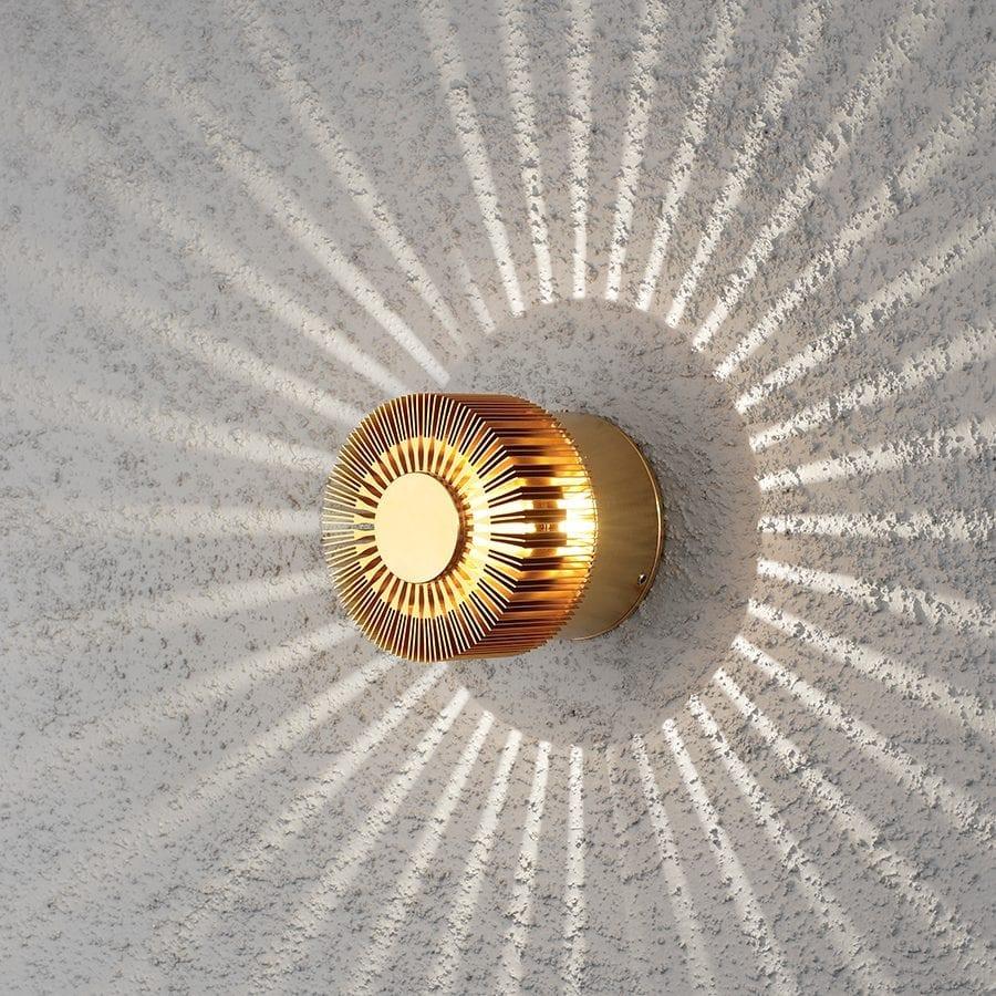 Monza LED Veggspot Spiral-40436