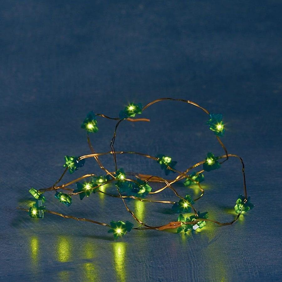 Batteridrevet LED Gave-/Lysslynge 20 Lys-56455