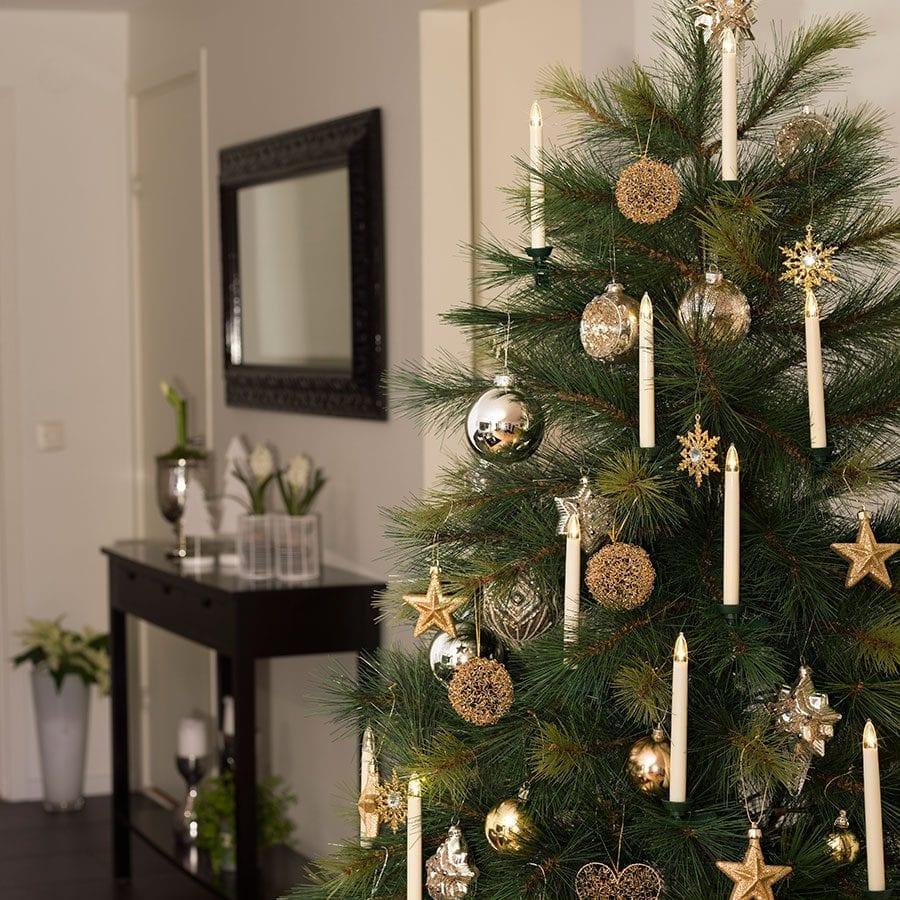 Juletrebelysning LED Trådløst Ekstra Sett-42349