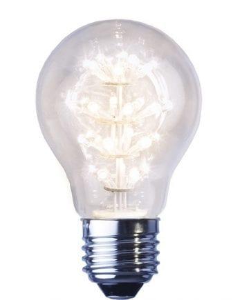 1,4W (=16W) E27 Decoration LED Varmhvit 2600K-0