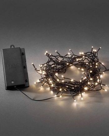 Batteridrevet LED Lysslynge Sensor 240 Lys-0