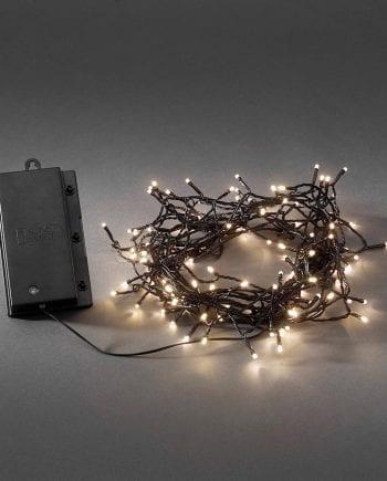 Batteridrevet LED Lysslynge Sensor 480 Lys-0