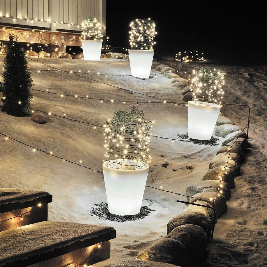 Assisi LED Blomsterkrukke Liten-41460