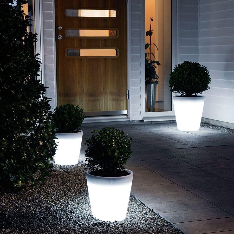 Assisi LED Blomsterkrukke Stor-41474
