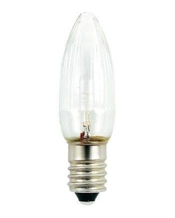 0,3W E10 LED 14-55V Reservepære 3pk-0