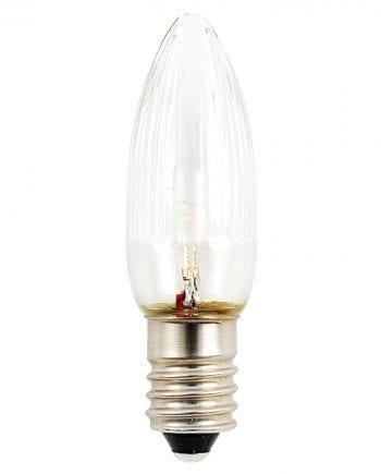 0,12W E10 LED 6V Reservepære 3pk-0