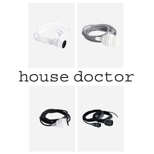 House Doctor Fabric Wire E27-0