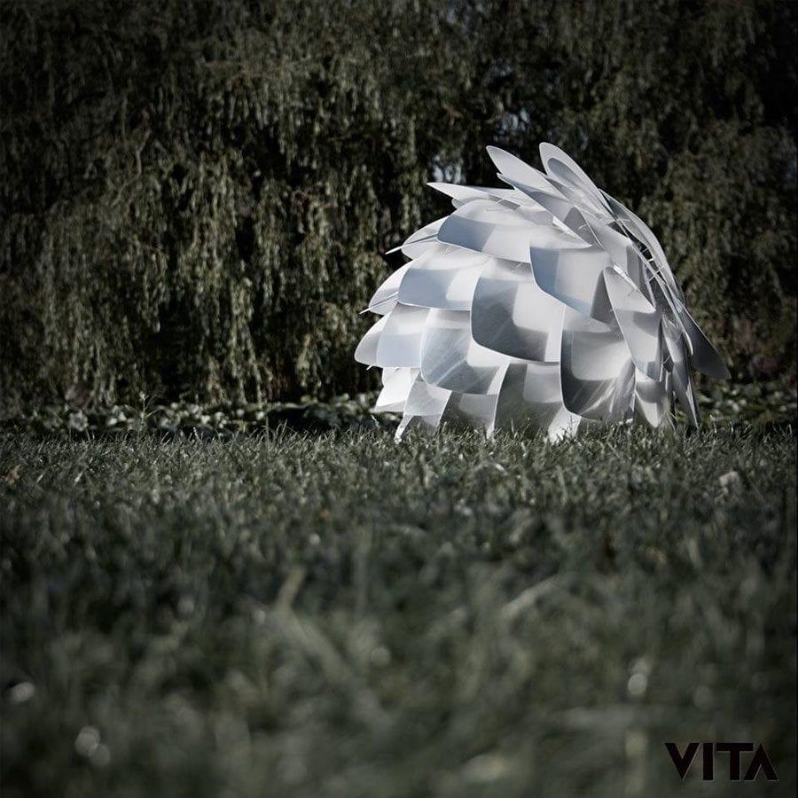 VITA Silvia Medium Lampeskjerm Stål-56868