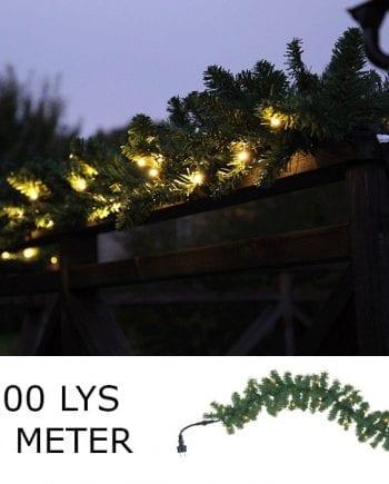 System LED Girlander Extra 100 Lys 6m Varmhvit-0