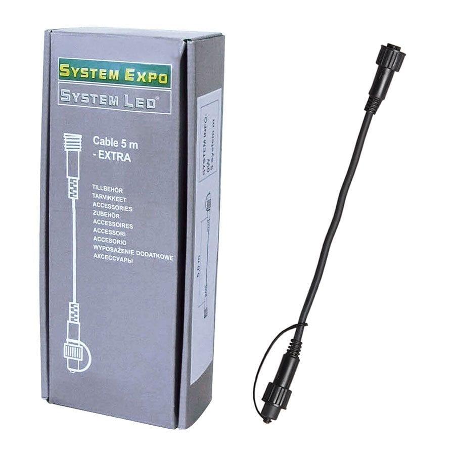 System LED Forlengelseskabel 5m -0