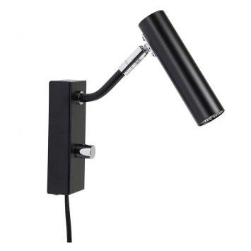 D-33 LED Vegglampe Matt Sort-0