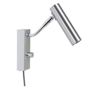 D-33 LED Vegglampe Aluminium-0