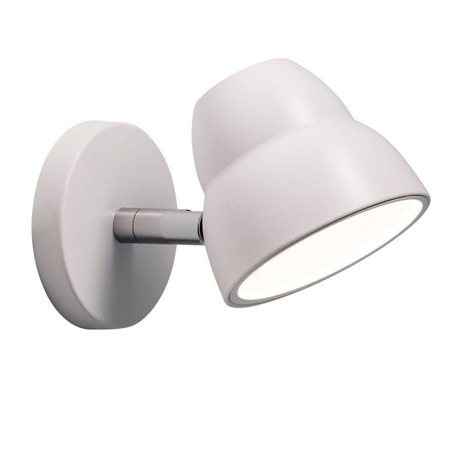 Herstal Fico LED Vegglampe Hvit-0