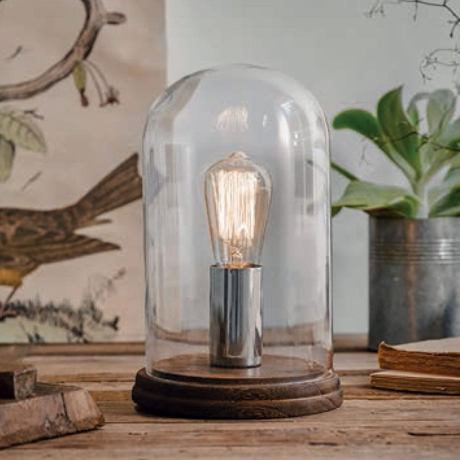 Herstal Manola Bordlampe Krom-0