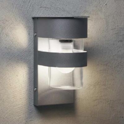 Nordic Utelampe Klart Glass-0