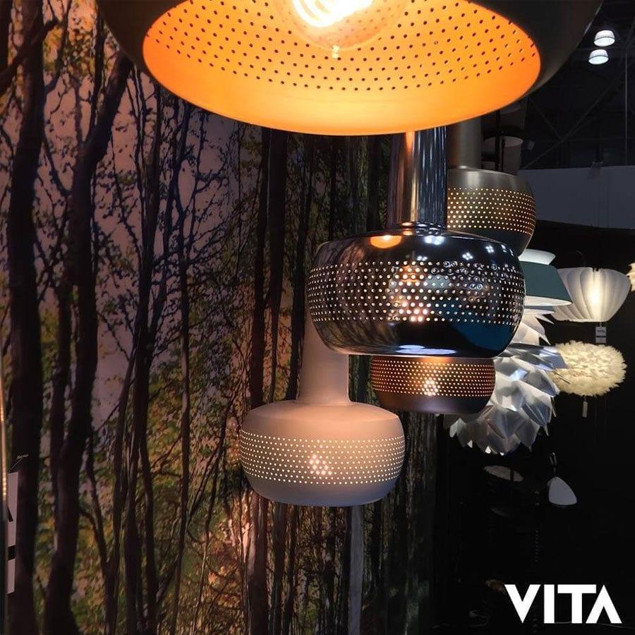 VITA Clava Lampeskjerm Kobber-56852