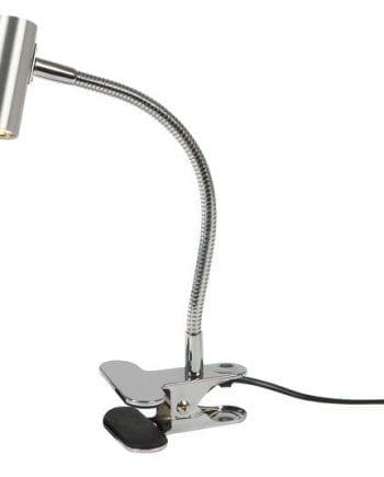D-33 Mini LED Spot Svanehals m/ Klypefeste Aluminium-0