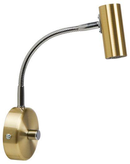 D-33 LED Vegglampe Svanehals-47029