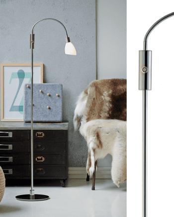 Herstal Cut LED Gulvlampe-0