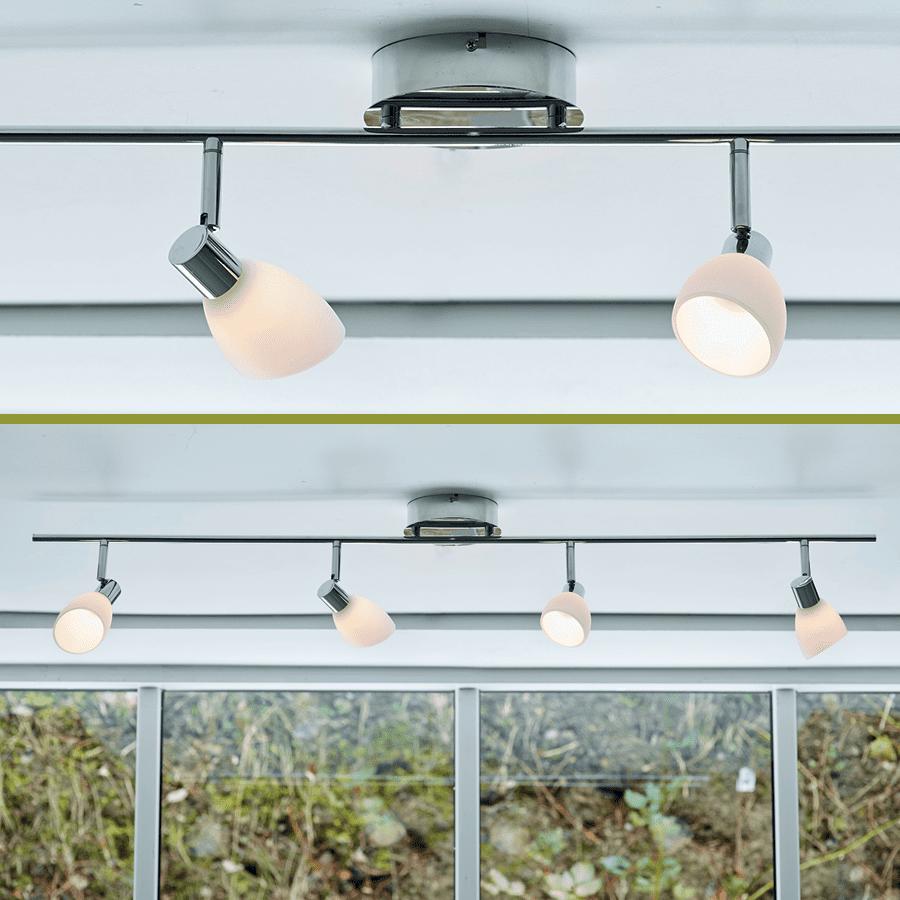 Herstal Cut LED Spotskinne Quattro-0