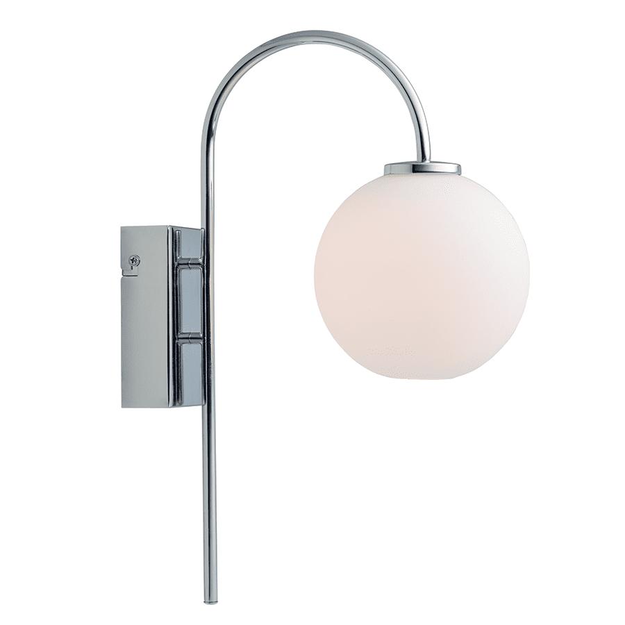 Herstal Ballon LED Vegglampe Krom-47627