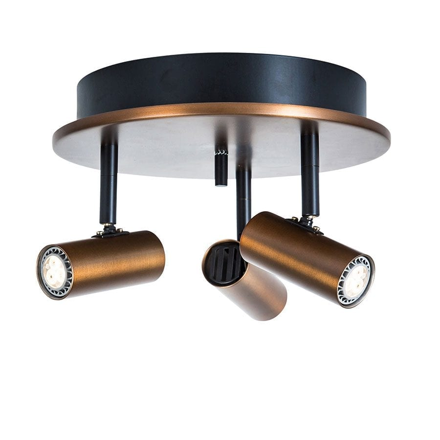 Cato 3 LED Spotlight Rundell-68463