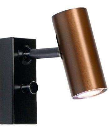 Cato LED Vegglampe Singel m/Dimmer-0