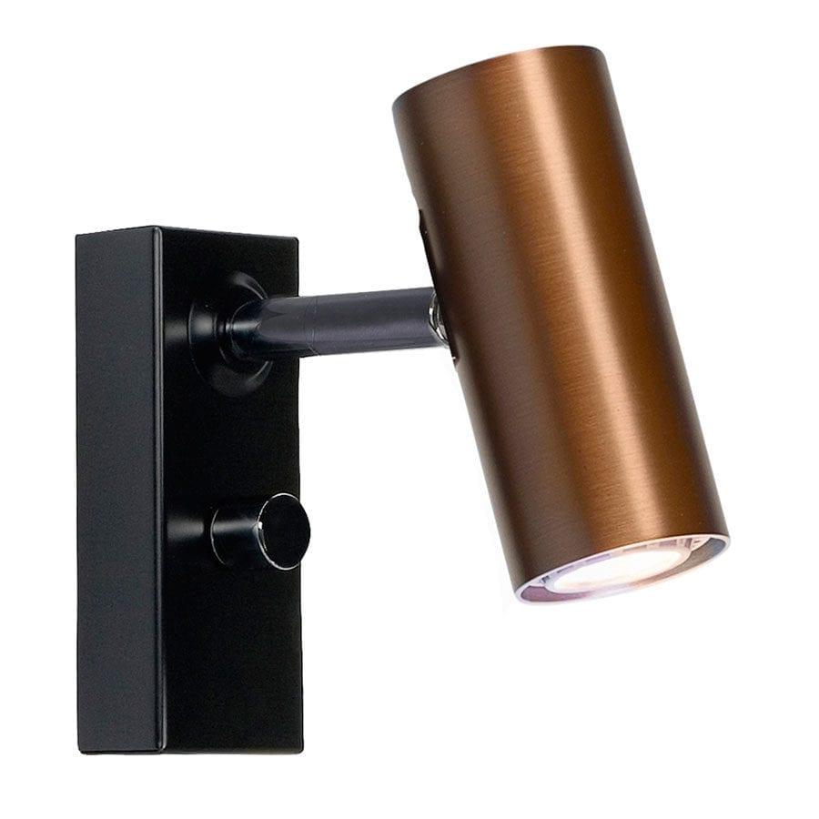 Uvanlig Belid Cato LED Vegglampe Singel m/Dimmer - Designbelysning.no ST-65