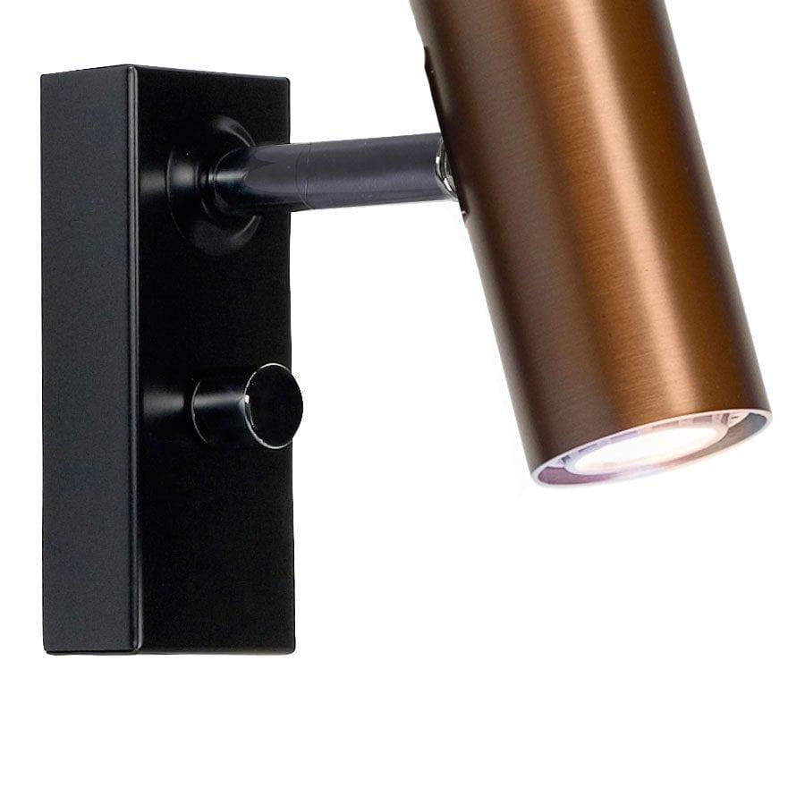 Cato LED Vegglampe Singel m/Dimmer-68376