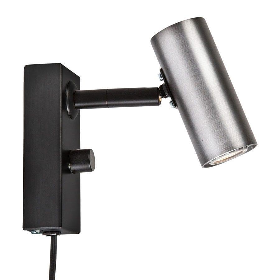 Cato LED Vegglampe Singel m/Dimmer-68372