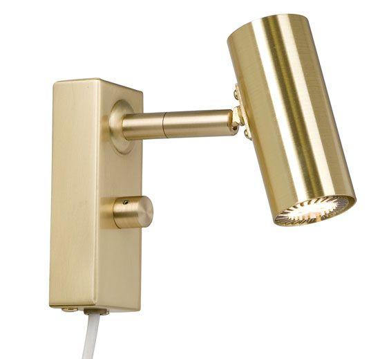 Cato LED Vegglampe Singel m/Dimmer-47277