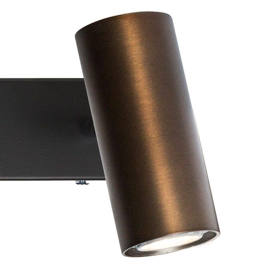 Cato LED Vegglampe Dobbel m/Dimmer-68448