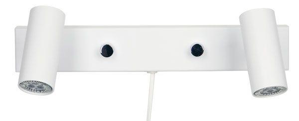 Cato LED Vegglampe Dobbel m/Dimmer-47384