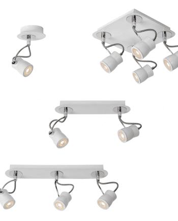 Samba LED Spot Hvit-0