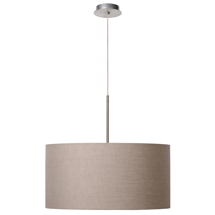 Lucide cliff taklampe - Lustre couleur taupe ...