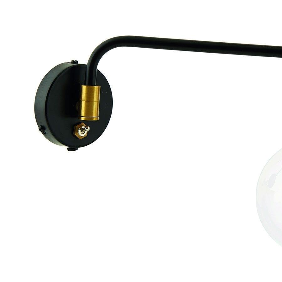 House Doctor Molecular Singel Vegglampe-68385