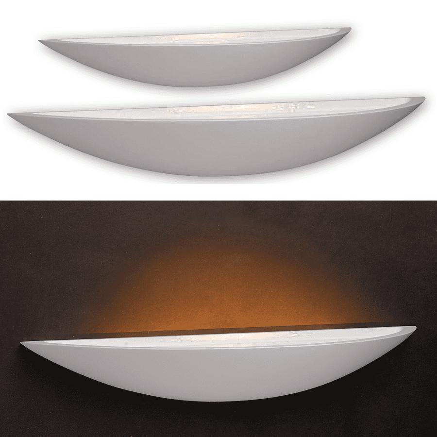 Blanko Vegglampe Oval-51780