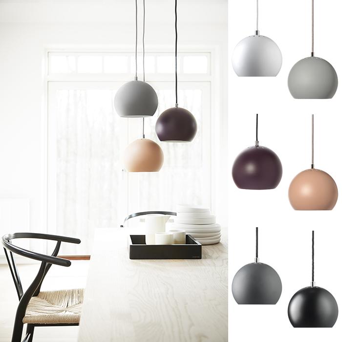 Frandsen Ball Pendel Matt Designbelysning no