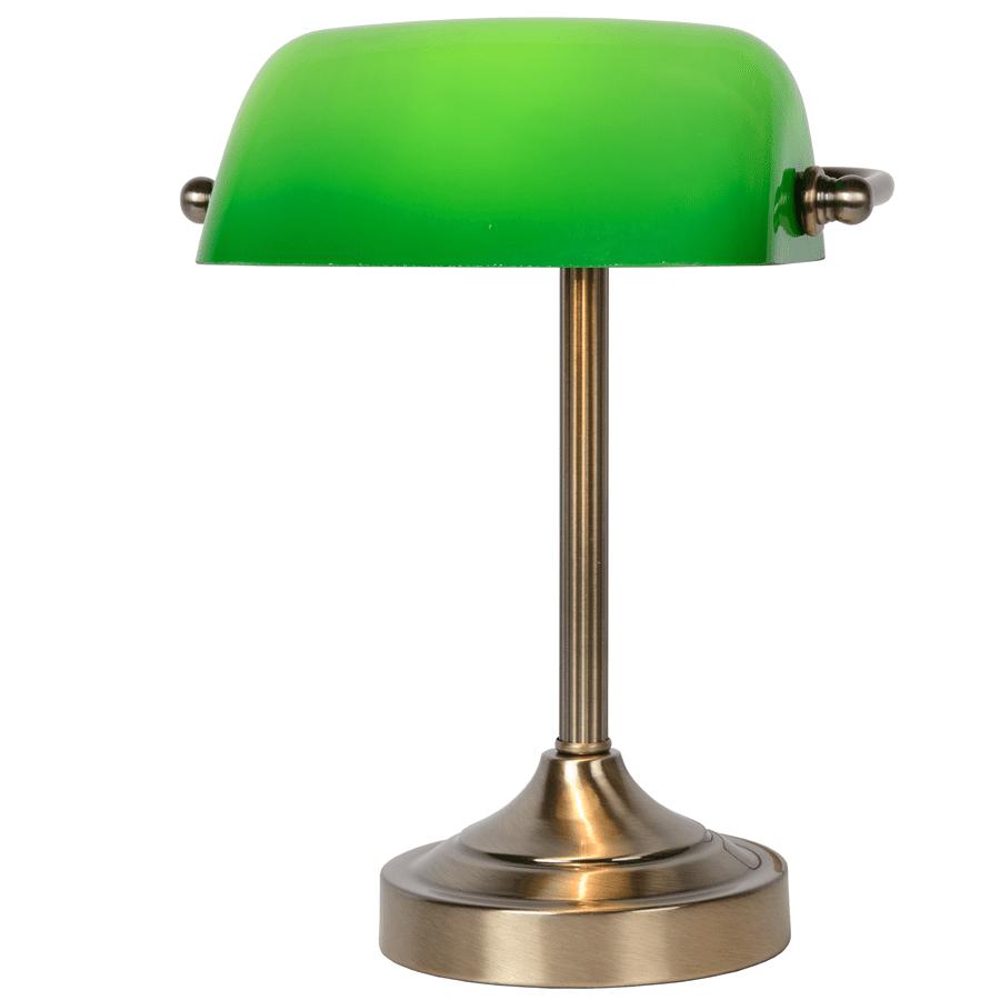 Banker Bordlampe Krom/Bronse-52143