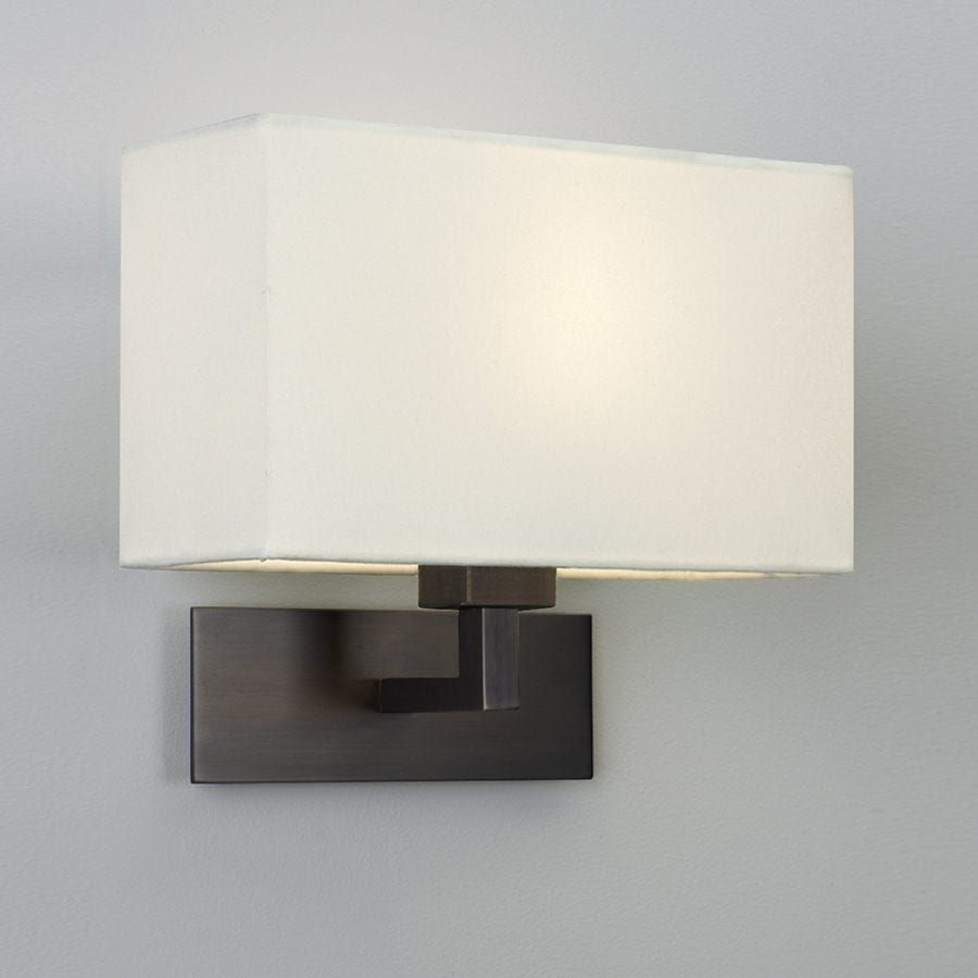 Park Lane Grande Vegglampe Bronse u/Skjerm-53224