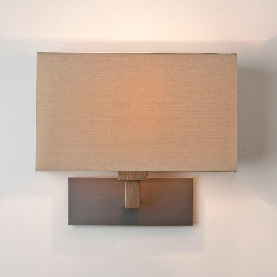 Park Lane Grande Vegglampe Bronse u/Skjerm-53225