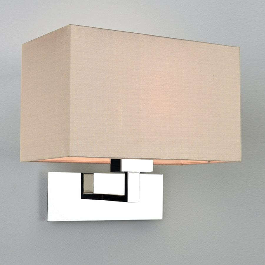 Park Lane Grande Vegglampe Krom u/Skjerm-53239