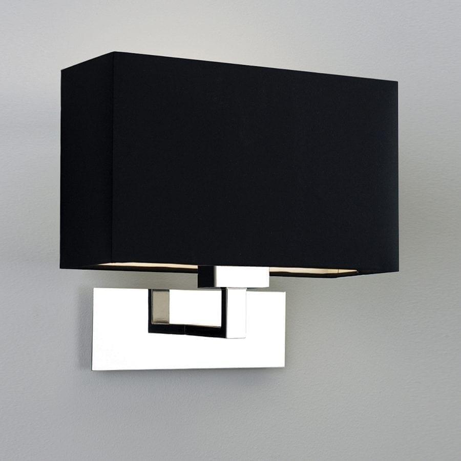 Park Lane Grande Vegglampe Krom u/Skjerm-53235