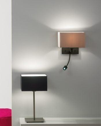 Park Lane Grande LED Vegglampe Bronse u/Skjerm-0