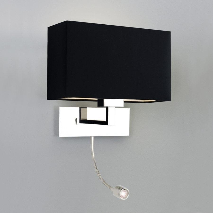 Park Lane Grande LED Vegglampe Krom u/Skjerm-53286