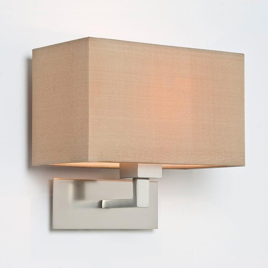 Park Lane Grande Vegglampe Matt Nikkel u/Skjerm-53249