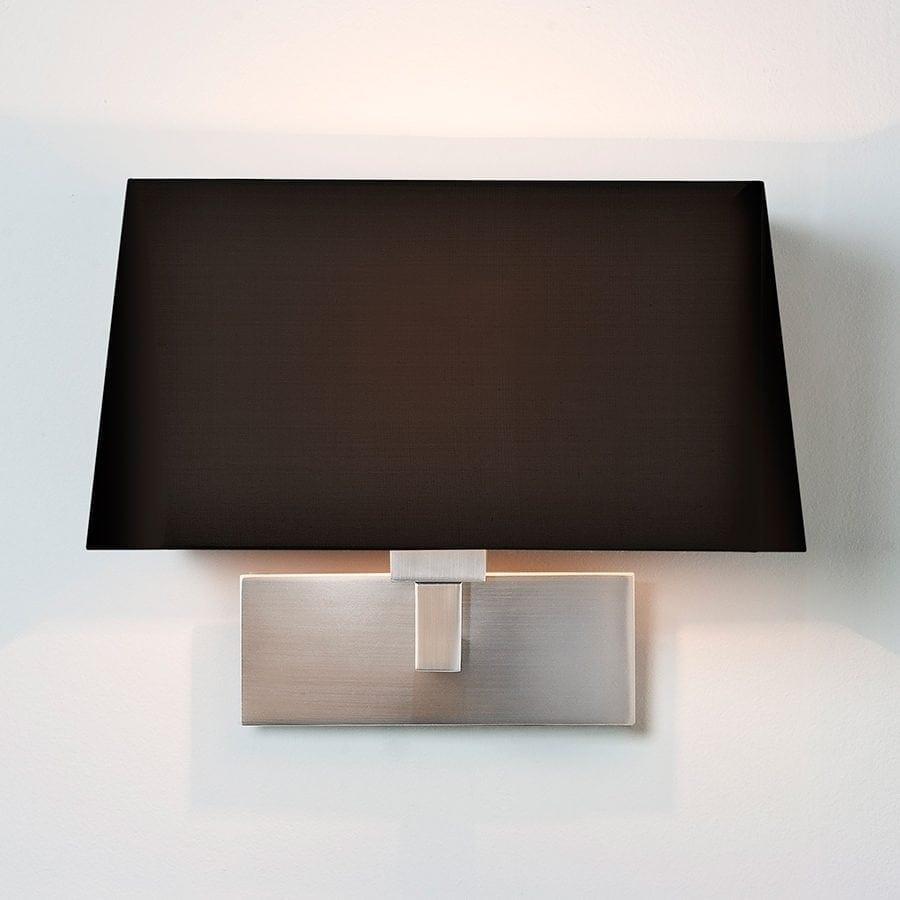 Park Lane Grande Vegglampe Matt Nikkel u/Skjerm-53247